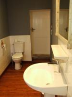 salle d'eau et WC du gîte